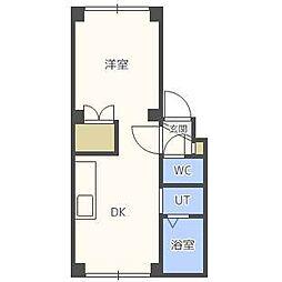 アーバンマンション2[1階]の間取り