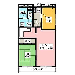 SKY・T[8階]の間取り