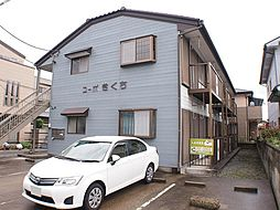 栃木県宇都宮市今泉町の賃貸アパートの外観