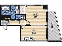 ロイヤルファミリー淀川邸[7階]の間取り