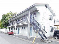 鹿児島県姶良市加治木町朝日町の賃貸アパートの外観