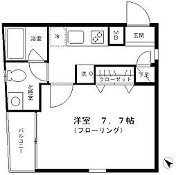 プチドムス浅草[4階]の間取り