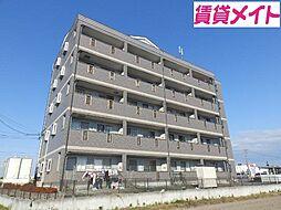 三重県松阪市小津町の賃貸マンションの外観