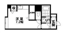 シティ南郷27[205号室]の間取り