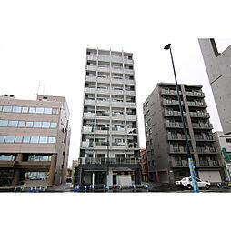 北海道札幌市中央区北五条西18丁目の賃貸マンションの外観