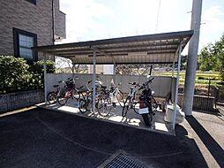 岐阜県可児市大森の賃貸アパートの外観
