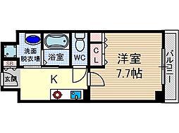 シャンピアコート茨木[7階]の間取り