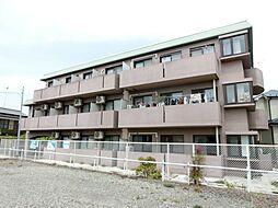 埼玉県鴻巣市中央の賃貸マンションの外観
