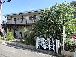 大阪府茨木市若園町の賃貸アパートの外観