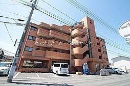 岡山県岡山市北区奥田西町の賃貸マンションの外観
