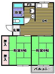 ソファレキムラ[2階]の間取り