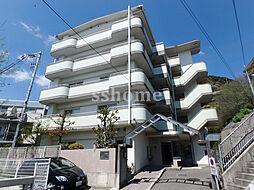 兵庫県神戸市灘区水車新田字宮坂の賃貸マンションの外観