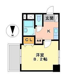 プロビデンス泉1[2階]の間取り