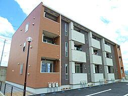 静岡県磐田市新貝の賃貸アパートの外観