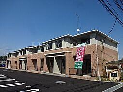 東京都あきる野市伊奈の賃貸アパートの外観