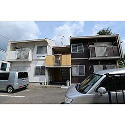奈良県生駒市東生駒月見町の賃貸アパートの外観