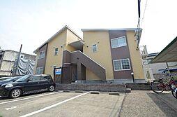愛知県名古屋市昭和区萩原町5丁目の賃貸アパートの外観