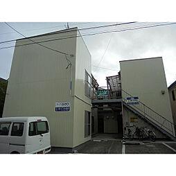 新潟県新潟市中央区美の里の賃貸アパートの外観