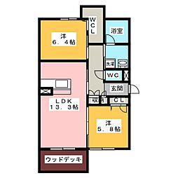 (仮)ベレオ刈谷松栄町[1階]の間取り