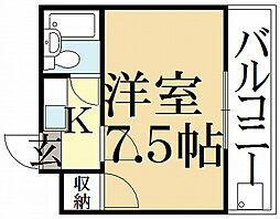 ゾンネハウス[3階]の間取り
