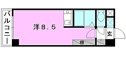 CASA FELIZ[301 号室号室]の間取り