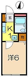 アネックス小泉[1階]の間取り