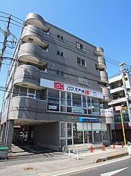 埼玉県越谷市蒲生寿町の賃貸マンションの外観