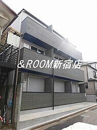 東京都練馬区平和台2丁目の賃貸アパートの外観