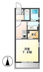 Brezza Nakamurakoen[1階]の間取り