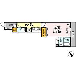 横浜市営地下鉄グリーンライン 中山駅 徒歩9分の賃貸アパート
