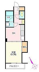 芦山ビル[1階]の間取り