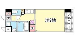 アーバネックス新神戸[7階]の間取り