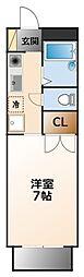 ルフロン甲子園[1階]の間取り