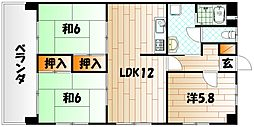 飯野ビル[4階]の間取り
