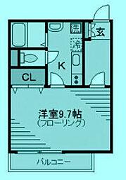 メゾン・ド・ズー[2階]の間取り