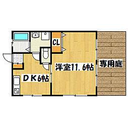 兵庫県神戸市垂水区北舞子1丁目の賃貸マンションの間取り