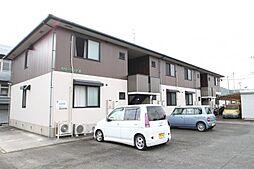 福岡県飯塚市幸袋の賃貸アパートの外観