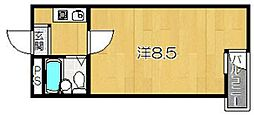 グランデール・サン[3階]の間取り