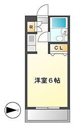 メゾン・ド・トニーク[2階]の間取り