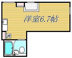 ゴールドレジデンシア三軒茶屋[2階]の間取り