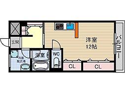 西駅前吉田マンション[5階]の間取り