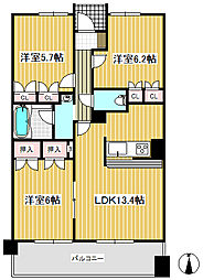 N.グランドゥール[2階]の間取り