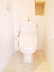 新規交換済みのウォシュレット付きトイレです。