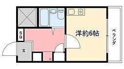セントナルオ[301号室]の間取り