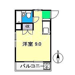 塩屋崎ハイツ[3階]の間取り
