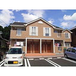静岡県裾野市稲荷の賃貸アパートの外観