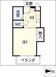 VOGEL−HAUS[2階]の間取り