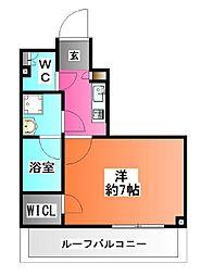 東京都北区赤羽台3の賃貸マンションの間取り