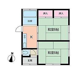 [一戸建] 神奈川県座間市緑ケ丘2丁目 の賃貸【/】の間取り