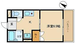 アットハウス松谷III[2階]の間取り